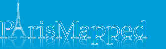 Paris Map Logo
